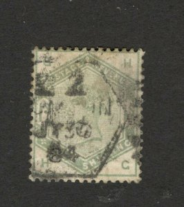 GB - UNITED KINGDOM - USED STAMP - QV -   1 S   (34)