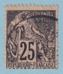 FRENCH COLONIES 54  USED - NO FAULTS VERY FINE!