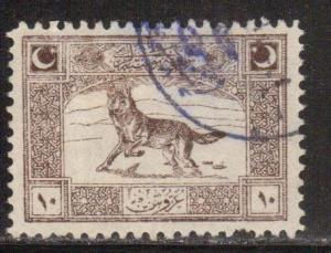 Turkey in Asia Scott # 83, used