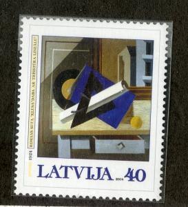 LATIVIA 584  MNH SCV $2.00 BIN $1.25