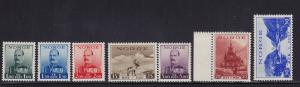 Norway Scott #'s 177 - 183 XF mint never hinged nice color scv $ 60 ! see pic !