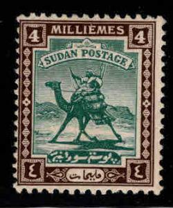 SUDAN Scott 35 MH* Camel mail stamp