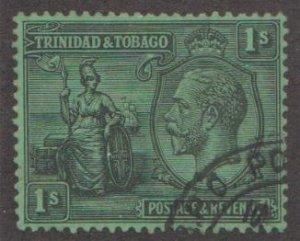 Trinidad & Tobago Scott #33 Stamp - Used Single