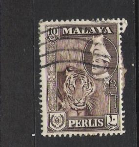MALAYA PERLIS 34 VFU TIGER L891 B