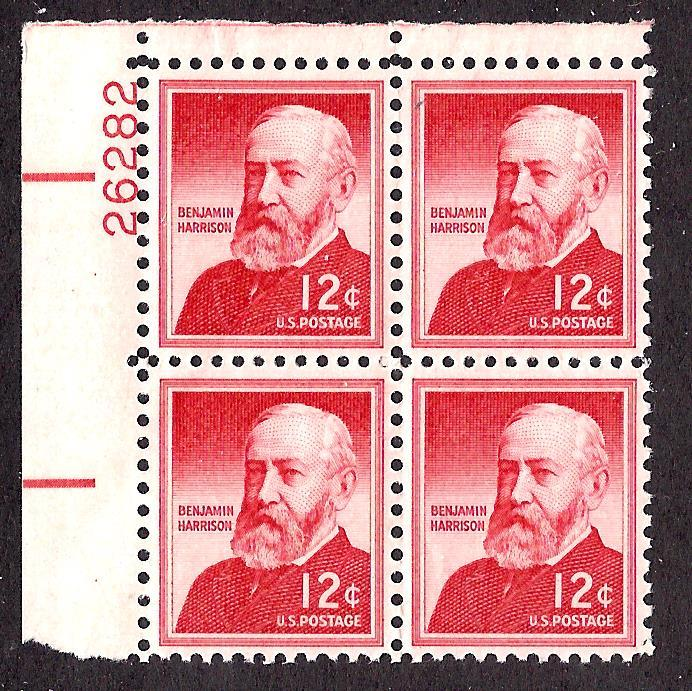 1045 Mint,OG,NH... Plate Block of 4