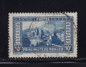 Monaco Scott # 129 XF used neat cancel with nice color scv $ 70 ! see pic !