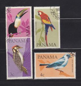 Panama  Scott 462-462C Favor Canceled CTO 1965 Bird set