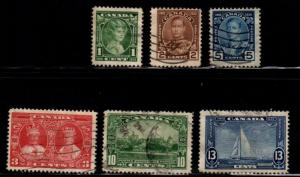 Canada - #211 - 216 Silver Jubilee set/6 - Used
