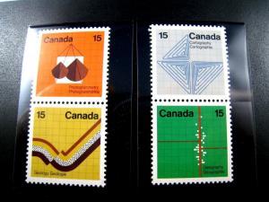 CANADA - SCOTT # 582 - 585   -   MLH                  (can-34)