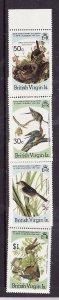 Virgin Is.-Sc#520-3-unused  NH set-Birds-Audubon-id2-1985-
