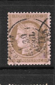 FRANCE 1871-76  10c   CERES   FU    SG 194