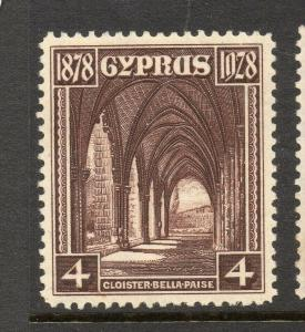 Cyprus 1928 Early Issue Fine Mint Hinged 4p. 303624