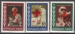 Haiti #B6-8  MNH CV $2.75  (S2801)
