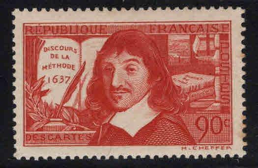 FRANCE Scott 331 MH* de la Methode inscription