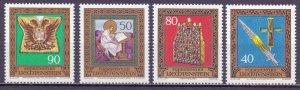 Liechtenstein. 1977. 673-76. Habsburg Treasures. MNH.