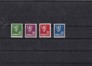 norway 1922  mounted mint  stamp set cat £45+  ref 12177