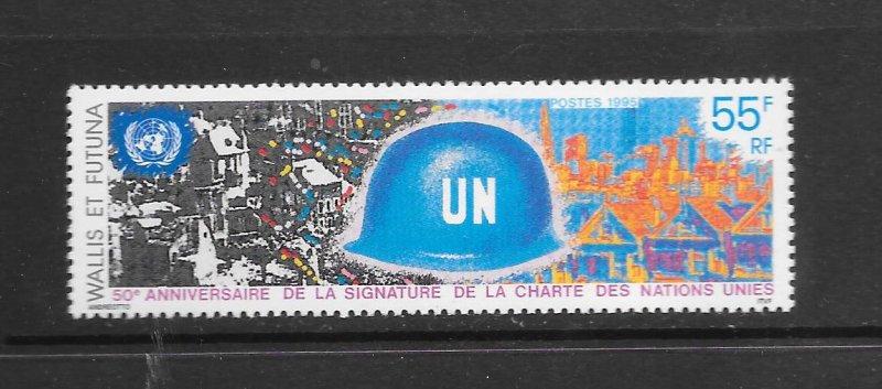 WALLIS & FUTUNA  #469  UN 50th ANNIVERSARY   MNH