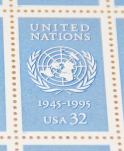 1995 sheet United Nations Sc# 2974