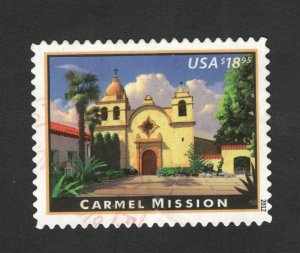 4650 Carmel Mission Used Postage Single Off Paper FREE SHIPPING