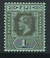 Fiji  GV  SG 134b  MUH  on blue green