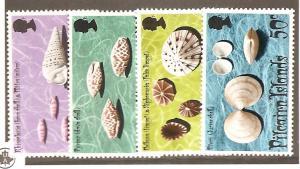 Pitcairn Is.  Scott #137-140  Mint NH  Scott CV $8.35