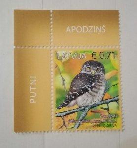 Latvia 2016 Eurasian Pygmy Owl (Glaucidium passerinum) MNH**