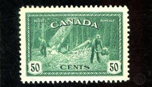 CANADA #272 MINT XF OG LH Cat $23