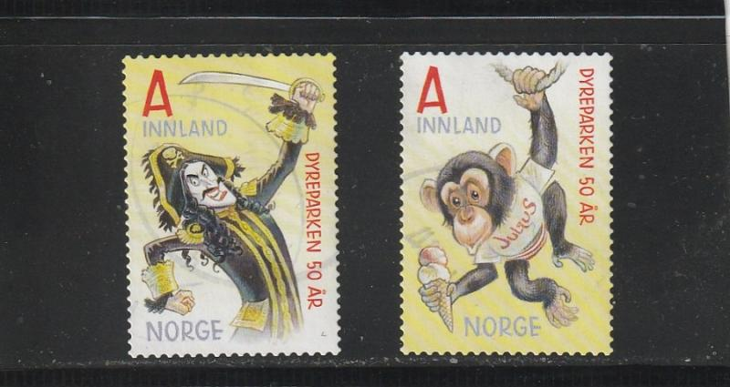 Norway  Scott#  1801-2  Used