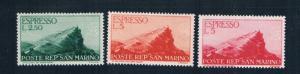 San Marino E12-14 MNH View of San Marino 1945 (S0870)