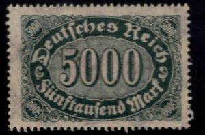 Germany Scott 208 MH* Hyper Inflation stamp