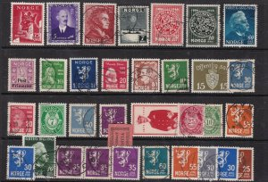 NORWAY ^^^^x32  used  CLASSICS  + others  $$@ta219nor