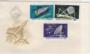 Hungary 1963 Space Postal History Stamps Cover Ref: R7720