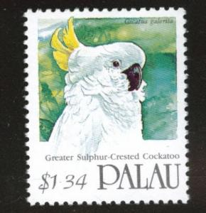 Palau Scott 250 MNH** Bird stamp from 1991-1992 set