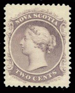 Nova Scotia #9a, MH, XF
