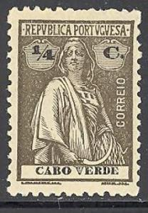 Cape Verde 173 mint hinged perf 12 X 11 1/2
