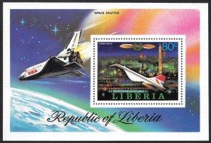 Liberia Mint Never Hinged ~ Souvenir Sheet ~ [9188]