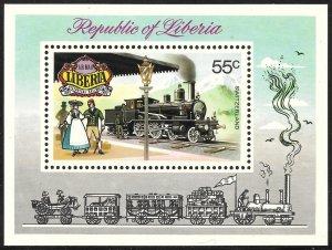 Liberia Mint Never Hinged ~ Souvenir Sheet ~ [9180]