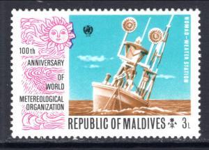 Maldive Islands 466 Space MNH VF