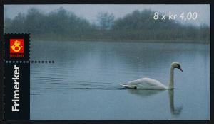 Norway 1219a Booklet MNH Swans