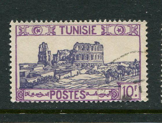 Tunisia #160 Used - penny auction