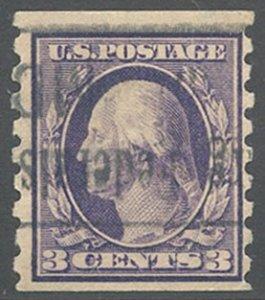 US Scott #394 Used, F