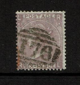 Great Britain SG# 97 Used / Plate 5 / Wmk Emblems - S4474