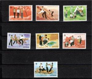 Antigua 1977 Sc 465-71 MNH Commemorative Perforate