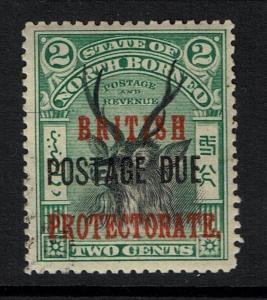 North Borneo SG# D38, Mint Lightly Hinged - Lot 112316