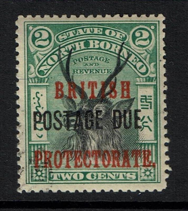 North Borneo SG# D38, Mint Lightly Hinged - Lot 112316