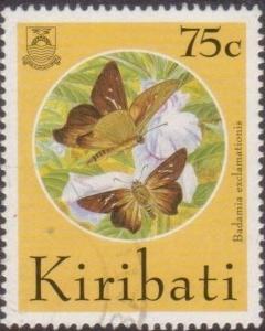 Kiribati 1994 SG456 75c Butterflies and Moths FU