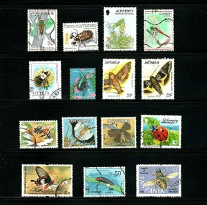 Insects 15 Different Used 8 Countries SCV 8.05