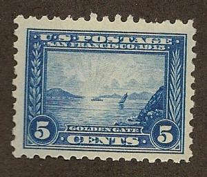403 Unused 5c. Panama-Pacific, scv: $160