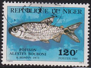 Niger 649 Alestes Bouboni 1984
