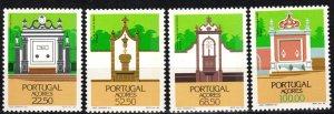 Portugal Azores #357-60  MNH CV $7.25 (P700)